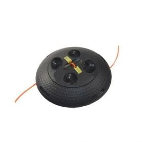 Tête universelle manuelle à chargement rapide CYCLOTRON II - réserve 4,6m de fil - diamètre 2,4 mm adaptateurs