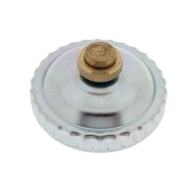 Bouchon à essence universel en métal - ventilation à fermeture baïonnette - diamètre extérieur 30mm
