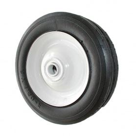 Roue en acier à moyeu centré universelle - diamètre extérieur 152mm - largeur 38mm - longueur moyeu 44,5mm - alésage 12,7mm