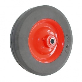 Roue LAWN BOY 681980 - 682121 - PRO en acier sur roulement moyeu déporté