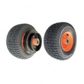 """Roue complète SCAG 48192 - modèles 36"""" - 48"""" - 52"""" - 61"""" - 72"""" - avec poulie - bande de frein"""