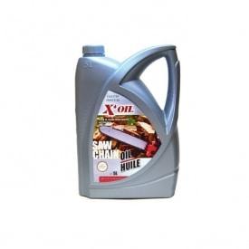 Huile de chaîne de tronçonneuse X'OIL 5 litres
