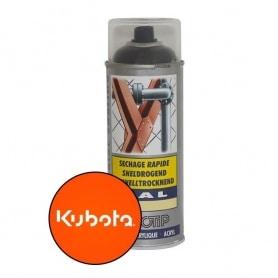 Peinture spéciale motoculture couleur ORANGE KUBOTA - Aérosol 400ml
