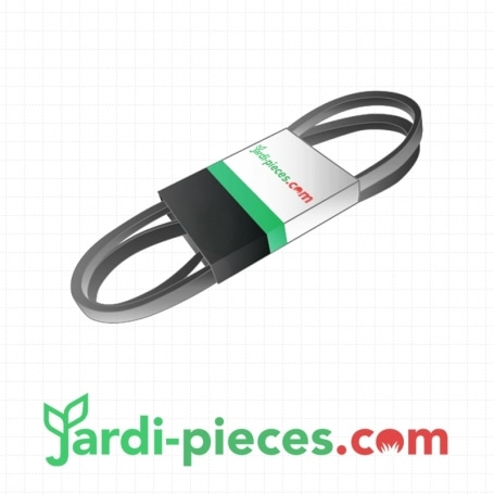Courroie tondeuse autoportée BERNARD 124525x - 126520 - 303241 - 532124525