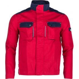 Veste de travail rouge - bleu marine M UNIVERSEL KW101030080048