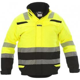 Veste d?hiver Umag RS-Line haute visibilité jaune - noir taille XL HYDROWEAR 072396YBXL
