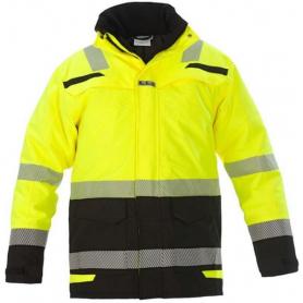 Parka d?hiver haute visibilité jaune - noir taille XL HYDROWEAR 072395YBXL