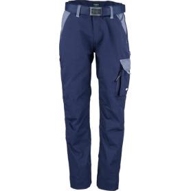 Pantalon de travail bleu marine - gris L UNIVERSEL KW102030091092