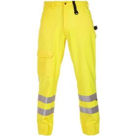 Pantalon d?été haute visibilité jaune taille L HYDROWEAR 044458FY54