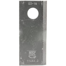 Couteau de faucheuse UNIVERSEL 13800014KR