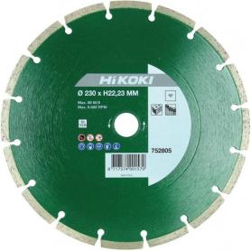 Disque diamant 230mm HIKOKI 752805