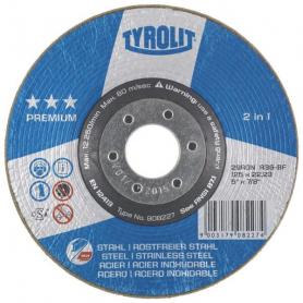Disque à meuler TYROLIT BD125A60