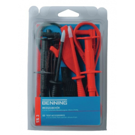 Set de cordons de mesure de sécurité TA3 BENNING 044126