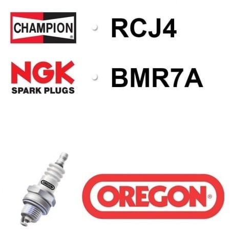 Bougie OREGON - CHAMPION rcj4 NGK bmr7a