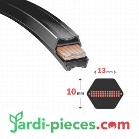 Courroie Coupe SNAPPER Modèles avec coupe 33 pouces
