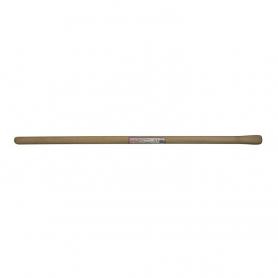 Manche en bois dur poncé de houe - diamètre 45 mm