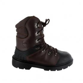 Chaussure de protection tronçonnage SOLIDUR Taille 44 - Norme CE EN-ISO-20345 - EN-ISO-17249