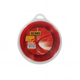 Coque fil nylon rond OZAKI 46 m diamètre 3,30 mm