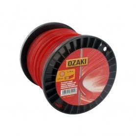 Bobine fil nylon rond OZAKI 62 m diamètre 3,80 mm