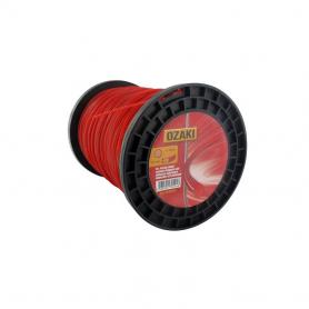 Bobine fil nylon rond OZAKI 400 m diamètre 2,40 mm