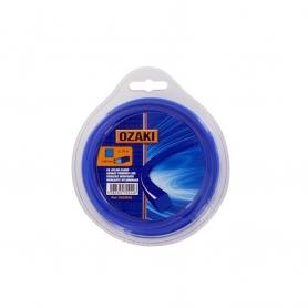 Coque fil nylon carré OZAKI 15 m diamètre 2,00mm