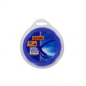 Coque fil nylon carré OZAKI 9 m diamètre 3,30 mm