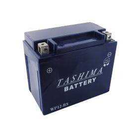 Batterie WP12BS + à gauche