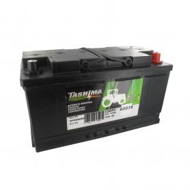 Batterie 12V 95A/H - borne + à droite - TASHIMA
