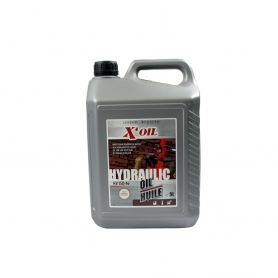 Huile hydraulique 5L X'OIL HV ISO 46 - HLP46 - ZS46