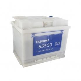 Batterie 13V 55A/H - borne + à droite - TASHIMA