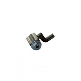 Embout Z en aluminium pour câble - diamètre 2 mm