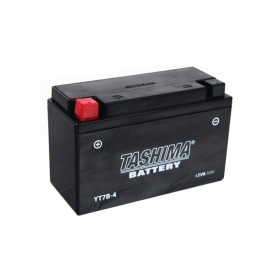 Batterie YT7B4 + à gauche