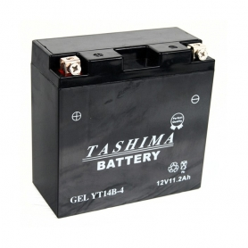 Batterie YB14AA2 + à gauche