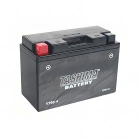 Batterie YT9B4 + à gauche