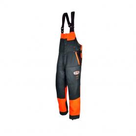 Salopette de bûcheronnage SOLIDUR Taille M - Norme CE EN381-5
