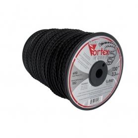 Bobine fil nylon VORTEX 183 m diamètre 3,30 mm