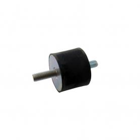 Silent bloc universel mâle / mâle diamètre 40 mm - M8 - 20/25 mm