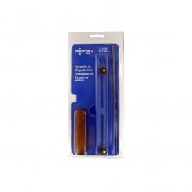 """Pack VALLORBE 1 lime ronde diamètre 4mm + accessoires pour chaînes 1/4""""-3/8"""" LP"""
