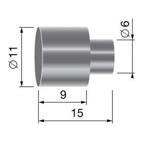 Butée de gaine - diamètre 9,5 mm