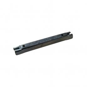 Gabarit d'affûtage en métal pour chaîne de tronçonneuse