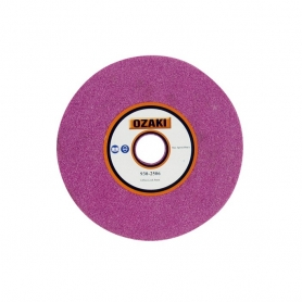 Meule d'affûtage OZAKI Épaisseur 6 mm diamètre extérieur 145 mm Alésage 22,2 mm