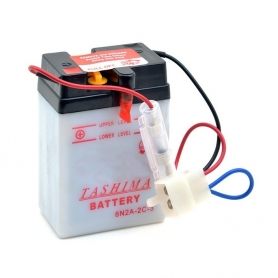Batterie 6N2A2C3 + à gauche