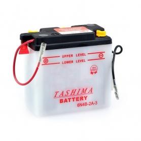 Batterie 6N4B2A3 + à gauche