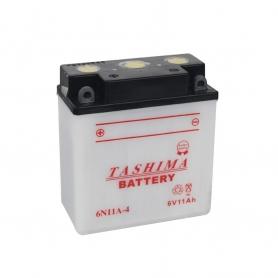 Batterie 6N11A4 + à gauche