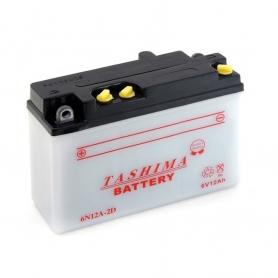 Batterie 6N12A2D + à gauche