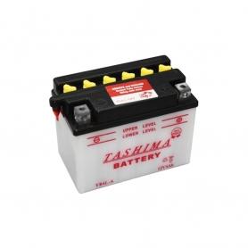 Batterie YB4LA + à droite
