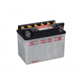 Batterie YB4LB + à droite