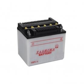 Batterie YB7CA + à droite