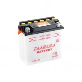 Batterie YB9LA2 + à droite