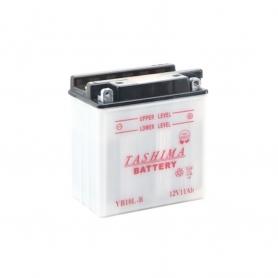 Batterie YB10LB2 + à droite